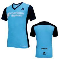 APEX Shirt Korte Mouw V Kraag Man