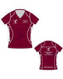 Falcon Runners CS APEX Shirt korte Mouw Dames