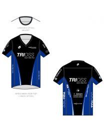 Trioss APEX Shirt Korte Mouw 0 Kraag Man