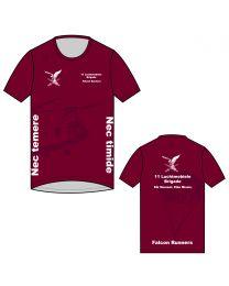 Falcon Runners CS Performance Hardloop Shirt Korte Mouw