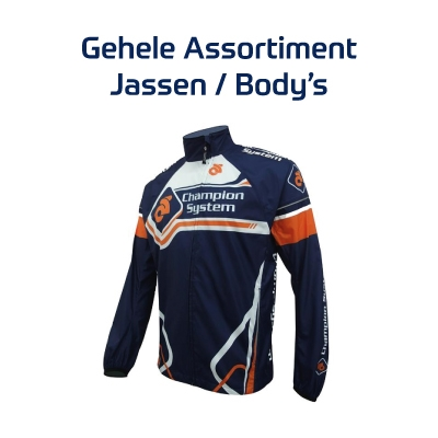 Custom Champion Sytem hardloopjassen/body's